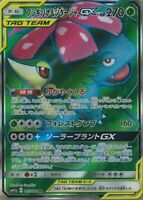 Pokemon Card Japanese - Venusaur & Snivy GX SR 065/064 SM11a - HOLO MINT