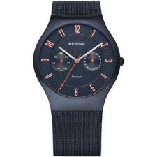 Relojes de pulsera de titanio de día y fecha