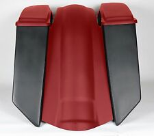 """8"""" Stretched Saddlebags 4 TOURING HARLEY ROAD KING Softail Heritage Bagger"""