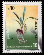 "NEPAL 550c (Mi571) - Orchids ""Cymbidium devonianum"" (pa43078)"