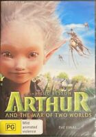 Arthur And The War Of The Two Worlds (DVD, 2011)  BRAND NEW & SEALED