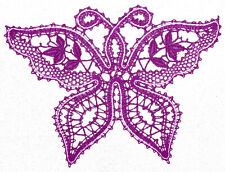 6 Patterns to making Bobbin Lace Butterfly Russian style