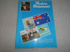 Australian Western Horseman's Annuals 1986/87 and 1989/90 (2). Horse Riding