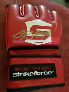 Ronda Rousey Signed Autographed W/ COA Strikeforce Glove UFC WWE 🔥🔥