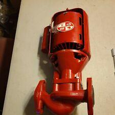 Bell Amp Gossett 112 Hp Series 100 Nfi Circulator Pump Amp Booster