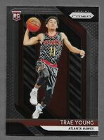 2018-19 Panini Prizm #78 Trae Young Rookie RC Hawks