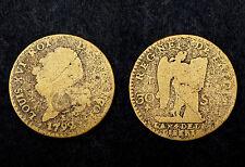 30 sols Francois 1792 I. Louis XVI°. Fausse de l'Époque. Laiton.