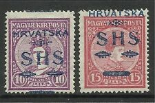 YUGOSLAVIA. 1918. Charles $ Zita Set. SG: 81/2. Mint Lightly Hinged.
