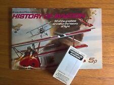 Brooke Bond tea cards: History of Aviation loose set + empty unused album