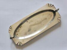 Antique Silver Plated Tray, Art Deco Serving Dish, A1 EPNS, High Tea Platter