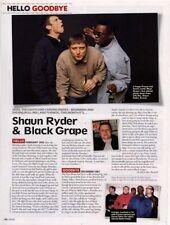 Hello, Goodbye Shaun Ryder & Black Grape Mag Cutting