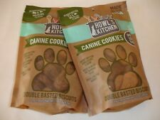 New! Dog Cookies Biscuits Treats Peanut Butter Bites Dog Chews Dog Food 2 Bags