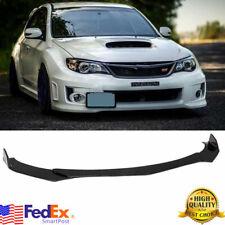Glossy Black Front Bumper Lip Chin Spoiler For Subaru Legacy Impreza Wrx Sti Us (Fits: Subaru)