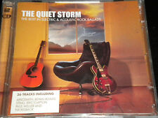 The Quiet Storm - The Best in Electric and Acoustic Rock Ballads - 2CDs Album