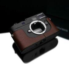 GARIZ  BL-LCM9BR (BROWN) leather case Leica M8, M9, M MONO CCD