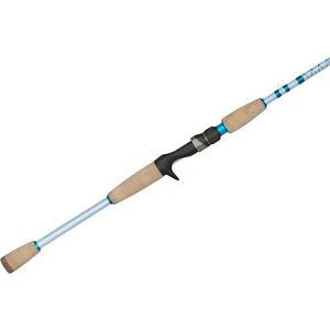 """Duckett Fishing Inshore Saltwater Baitcasting  Rod 7'6"""" Heavy DFIS76H-C"""
