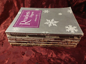 Readers Digest Reading Copy Lot 1951 issues