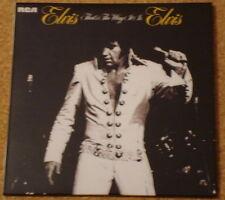 CD Album Elvis Presley - The Way it is (Mini LP Style Card Case) NEW