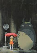 Dimensione a3-Il mio vicino Totoro Miyazaki giapponese a4 260 GSM STAMPA POSTER