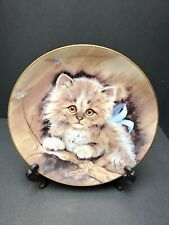 """The Hackett American Collection """"Cuddle Me"""" Original by Kathleen Smith Plate"""