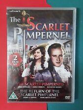 2 Pack The Scarlet Pimpernel & Return of The Scarlet Pimpernel NEW Merle Oberon