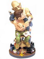 Profisti - Tätowierer Tattoo Tattooist XL Skulptur Figur 20613I