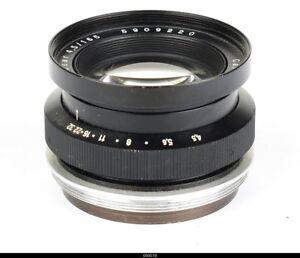 Lens Zeiss Tessar 4.5/165mm