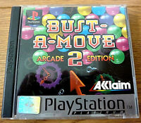 Bust A Move 2 Arcade Edition Platinum for Sony PlayStation One PS1 UK PAL Region