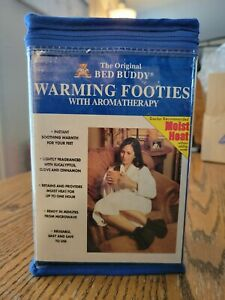 Bed Buddy Warming Footies with Aromatherapy Soothing Warmth for your Feet NEW