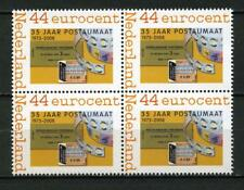 Nederland Blok v 4  uit boekjes postaumaat 2008 PQ1 MNH Postfris