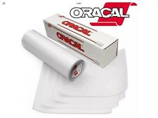 Oracal Clear Vinyl Transfer Tape Roll Grided Backer Zero Residue High Tack 10 Ft