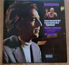 Ashkenazy, Solti - Beethoven: Piano Concerto 1,  Sonata 8 - Decca SXL 6651 (UK)