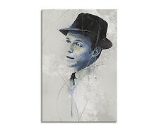 90x60cm Paul Sinus Splash tipo dipinto arte immagine Frank Sinatra Aqua