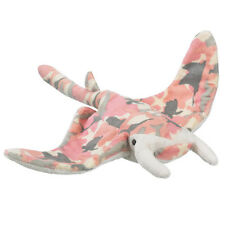 New Manta Ray Pink Camo 16 Inch Plush Stuffed Wild Toy XL Toys Wildlife Artists