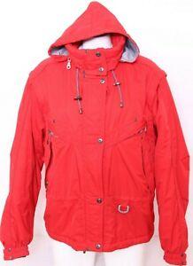 Killy Technical Equipment Red Recco Rescue System Hooded Vtg Ski Coat Women's 12