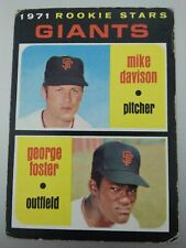 1971 Topps Baseball Rookie Card #276 George Foster SF Giants FREE SHIPPING !!!
