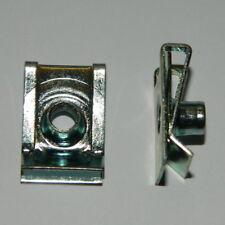 25 Stk. metrische Schnappmuttern M6 Stahl verz. Befestigungsklammer Blechmutter
