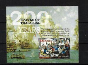 GRENADA MS5084, 2005 BATTLE OF TRAFALGAR, MINI SHEET MNH