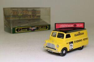 Corgi 96900; Bedford CA Van; Manchester Evening News; Excellent Boxed