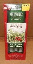 Scentsicles Fir Or Berry Wreath Christmas Sticks Ornaments Scent Hangers 152N