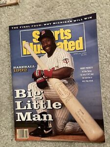 1992 Sports Illustrated Kirby Puckett Twins No Label