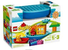 LEGO DUPLO 18 pcs SET 10567 Toddler Build and Boat Fun Bear Rabbit bath Starter
