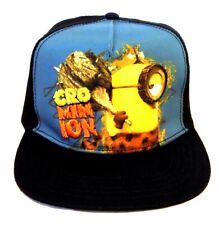 Despicable Me Minions Kids Cap Hat Officially Licensed (Black/Blue)