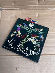 Vintage Nancy Thomas Wall Plaque THE BIRD TREE