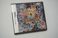 Nintendo DS One Piece Giants Battle Japan game US seller