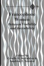 FRANCOPHONE WOMEN - NEW HARDCOVER BOOK
