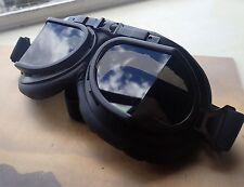 Vintage Aviator Goggles Cosplay  Gothic Steampunk  Cafe Racer Motorcycle Goggles