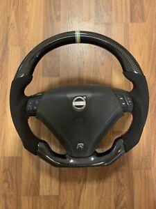 Alcantara Volvo Steering Wheel Racing Cabon for S60 V70 S60R V70R P2
