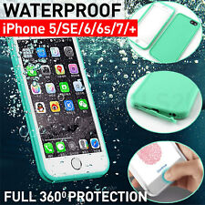 New Life Waterproof Shock/ Dust/ Snow Proof Case iPhone X 8 7 6/6s Plus 5/5s SE