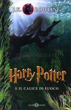 LIBRO HARRY POTTER E IL CALICE DI FUOCO - VOL 4 - J.K. ROWLING